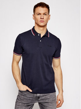 Geox Geox Tricou polo Sustainable M1210A T2649 F4386 Bleumarin Regular Fit