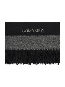 Calvin Klein Calvin Klein Шаль Block Scarf K60K608492 Чорний
