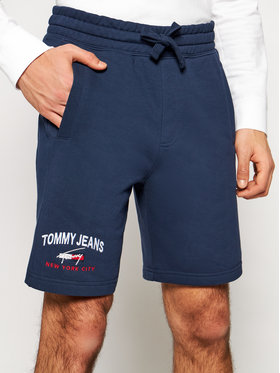 Tommy Jeans Tommy Jeans Športové kraťasy Timeless DM0DM10741 Tmavomodrá Regular Fit