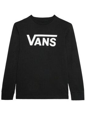 Vans Vans Блуза Classic Ls VN000XOI Черен Classic Fit