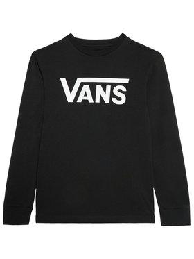 Vans Vans Μπλουζάκι Classic Ls VN000XOI Μαύρο Classic Fit