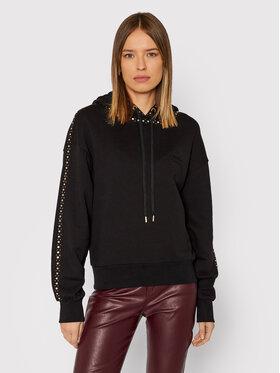 Pinko Pinko Sweatshirt Motivare 1Q10B2 Y7RM Schwarz Regular Fit