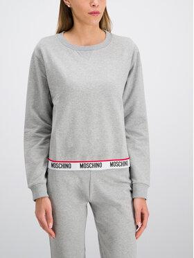 MOSCHINO Underwear & Swim MOSCHINO Underwear & Swim Felpa A1704 9027 Grigio Regular Fit