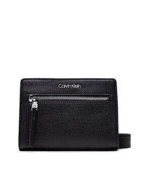 Calvin Klein Calvin Klein Дамска чанта Pocketed Conv Crossbody Sm K60K608430 Черен