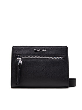 Calvin Klein Calvin Klein Handtasche Pocketed Conv Crossbody Sm K60K608430 Schwarz
