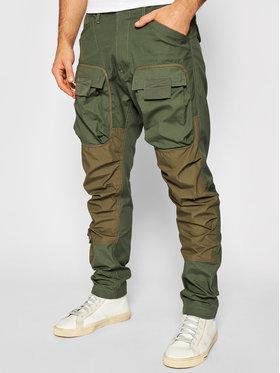 G-Star Raw G-Star Raw Spodnie materiałowe 3D Cargo D19756-9706-B111 Zielony Regular Fit