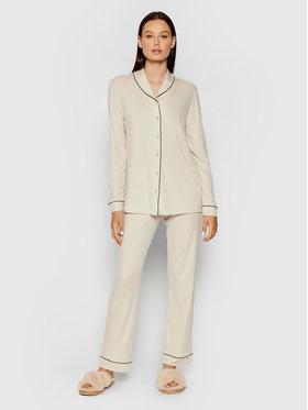 Hanro Hanro Pyjama Natural Comfort 7966 Beige