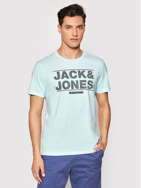 Jack&Jones Jack&Jones T-Shirt Mount 12182600 Blau Regular Fit