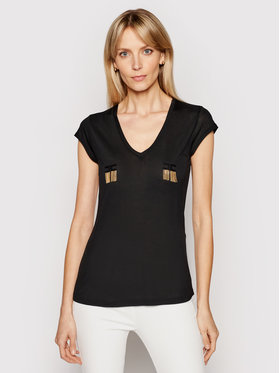 Elisabetta Franchi Elisabetta Franchi T-shirt MA-197-11E2-V150 Nero Regular Fit