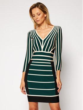Marciano Guess Marciano Guess Φόρεμα υφασμάτινο 0BG804 5036Z Πράσινο Slim Fit