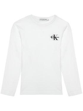Calvin Klein Jeans Calvin Klein Jeans Blusa Monogram IB0IB00613 Bianco Regular Fit