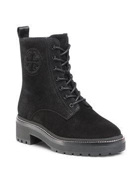 Tory Burch Tory Burch Ορειβατικά παπούτσια Miller 50Mm Lug Sole Bootie 75437 Μαύρο