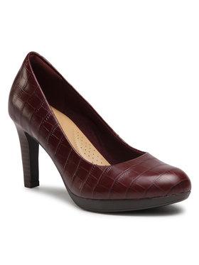 Clarks Clarks Chaussures basses Adriel Viola 261513304 Bordeaux