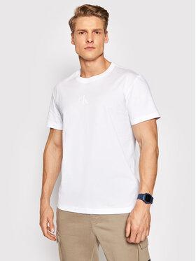Calvin Klein Jeans Calvin Klein Jeans Тишърт J30J317499 Бял Regular Fit