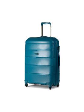 Puccini Puccini Közepes keményfedelű bőrönd Bahamas PP016B 5A Zöld