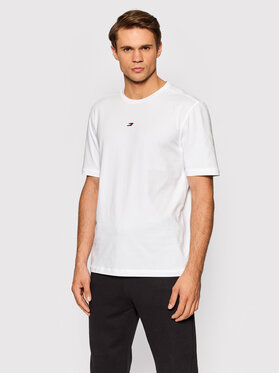 Tommy Hilfiger Tommy Hilfiger T-Shirt Motion Flag MW0MW19777 Weiß Regular Fit