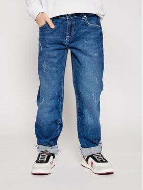 Guess Guess Jeansy L1RA14 D4B91 Modrá Slim Fit