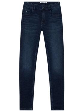 Calvin Klein Jeans Calvin Klein Jeans Džínsy Essential IB0IB00507 Tmavomodrá Skinny Fit