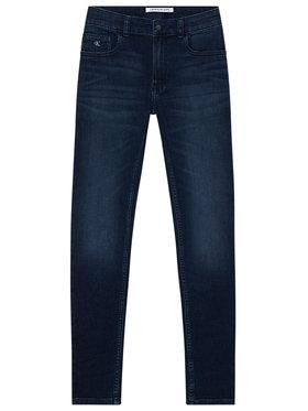 Calvin Klein Jeans Calvin Klein Jeans Jeansy Essential IB0IB00507 Granatowy Skinny Fit