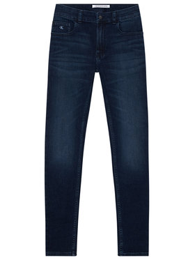 Calvin Klein Jeans Calvin Klein Jeans Τζιν Essential IB0IB00507 Σκούρο μπλε Skinny Fit