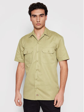 Dickies Dickies Риза Work DK001574 Зелен Regular Fit