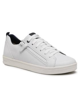 Geox Geox Sneakersy J Djrock B. D J925VD 08554 C1000 S Biela