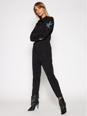 One Teaspoon One Teaspoon Overall Paradise 23694 Schwarz Relaxed Fit