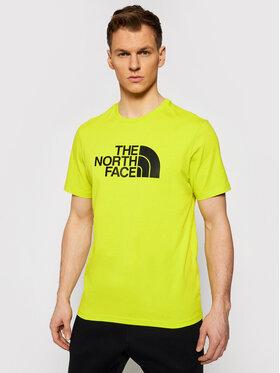 The North Face The North Face Tričko Easy Tee NF0A2TX3JE31 Zelená Regular Fit