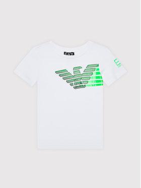 EA7 Emporio Armani EA7 Emporio Armani T-shirt 6KBT60 BJ6EZ 1100 Bianco Regular Fit