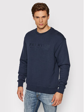 Jack&Jones PREMIUM Jack&Jones PREMIUM Sweatshirt Blu Frank 12193779 Dunkelblau Regular Fit