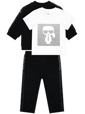 KARL LAGERFELD KARL LAGERFELD Komplet dresowy Z98081 Czarny Regular Fit