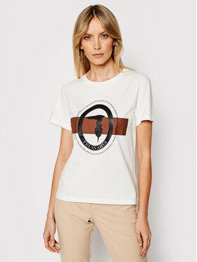 Trussardi Trussardi T-Shirt 56T00328 Weiß Regular Fit