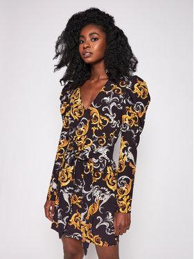 Imperial Imperial Коктейлна рокля ABKEAPE Черен Regular Fit