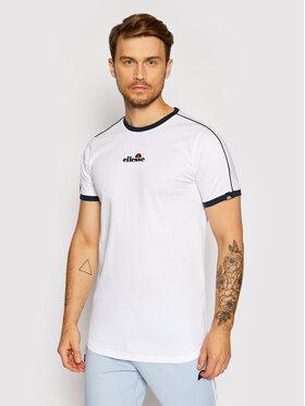 Ellesse Ellesse T-Shirt Riesco SHJ11915 Weiß Regular Fit