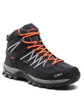 CMP CMP Παπούτσια πεζοπορίας Rigel Mid Trekking Shoe Wp 3Q12947 Γκρι