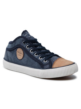 Pepe Jeans Pepe Jeans Sneakersy Industry Blue PBS30265 Granatowy