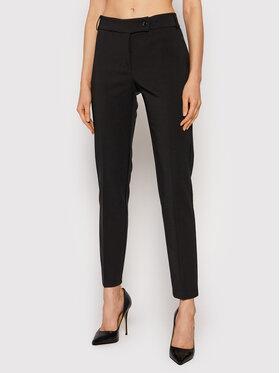 Rinascimento Rinascimento Spodnie materiałowe CFC0105037003 Czarny Slim Fit