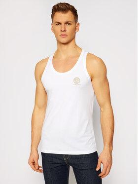 Versace Versace Tank top Medusa AUU01012 Biały Regular Fit