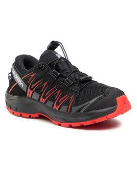 Salomon Salomon Trekingová obuv Xa Pro 3D Cswp J 407468 10 W0 Černá