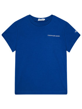 Calvin Klein Jeans Calvin Klein Jeans T-Shirt Chest Logo IB0IB00456 Dunkelblau Regular Fit