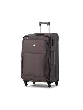 Dielle Dielle Közepes szövetborítású bőrönd 720/60 Szürke