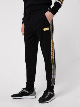 Hugo Hugo Pantaloni trening Donburi 50448848 Negru Regular Fit