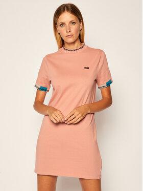 Vans Vans Každodenní šaty Hi Roller Tri VN0A4SAI Růžová Regular Fit