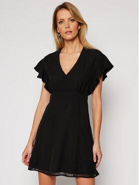 Guess Guess Sukienka letnia Ayar W1RK0B W70Q0 Czarny Regular Fit