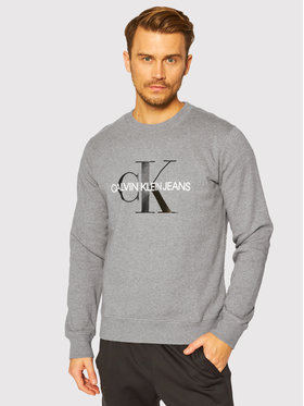 Calvin Klein Jeans Calvin Klein Jeans Mikina J30J314313 Sivá Regular Fit