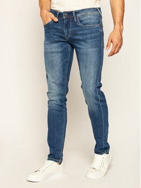 Pepe Jeans Pepe Jeans Дънки тип Slim Fit Hatch PM200823 Тъмносин Slim Fit
