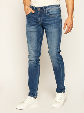 Pepe Jeans Pepe Jeans Jeansy Slim Fit Hatch PM200823 Granatowy Slim Fit