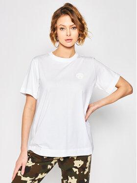 Napapijri Napapijri T-Shirt Silbe NP0A4E9G Biały Regular Fit