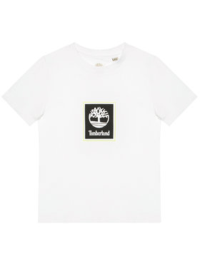 Timberland Timberland T-shirt T45828 Bianco Regular Fit