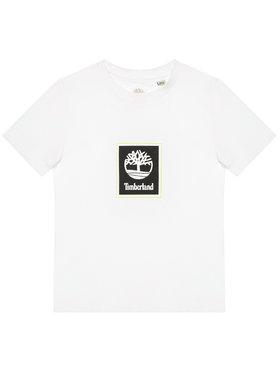Timberland Timberland T-Shirt T45828 Bílá Regular Fit